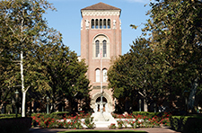 Bovard Administration Building on the USC campus